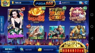 mega888 game